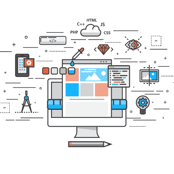 Image Showing Website Development Processes